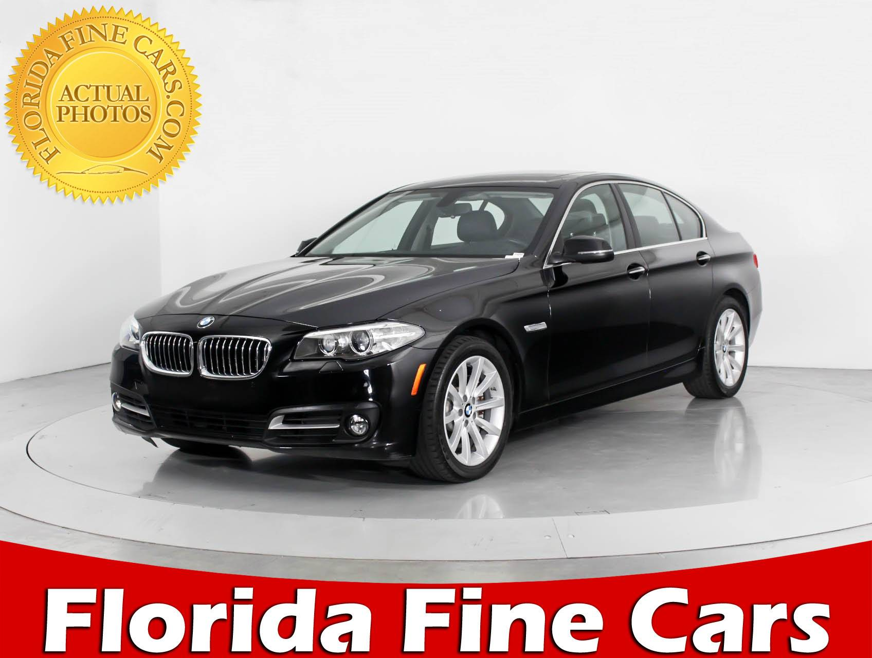 Used 2015 BMW 5 SERIES 535D XDRIVE Sedan for sale in WEST PALM FL