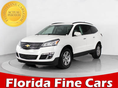 Used CHEVROLET TRAVERSE 2015 WEST PALM 2LT
