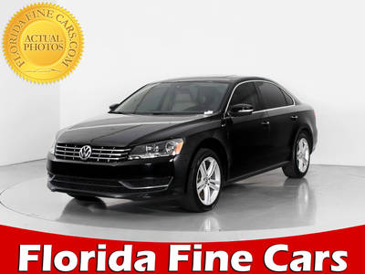 Used VOLKSWAGEN PASSAT 2015 WEST PALM Tdi Se