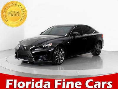 Used LEXUS IS-250 2014 WEST PALM F Sport