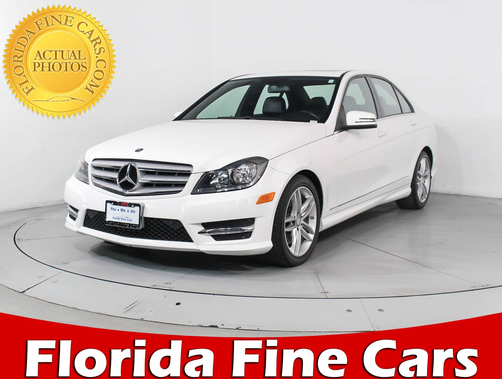 Used 2013 MERCEDES BENZ C CLASS C300 4MATIC Sedan for sale in MIAMI