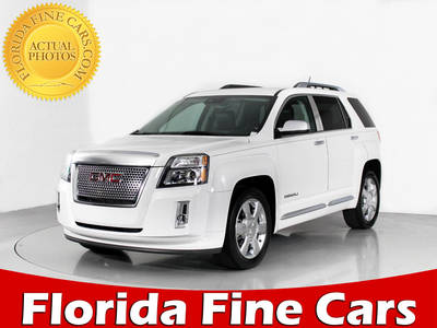 Used GMC TERRAIN 2014 WEST PALM DENALI