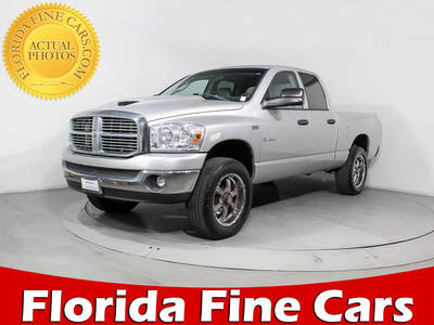 Used DODGE RAM-PICKUP 2008 MIAMI