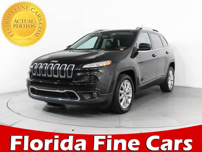 Used JEEP CHEROKEE 2016 MIAMI LIMITED