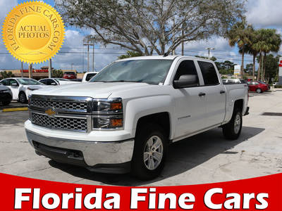 Used CHEVROLET SILVERADO 2014 WEST PALM Crew Cab Lt 4x4
