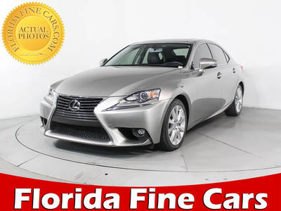 Used LEXUS IS-250 2015 HOLLYWOOD