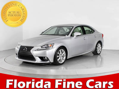 Used LEXUS IS-250 2014 WEST PALM