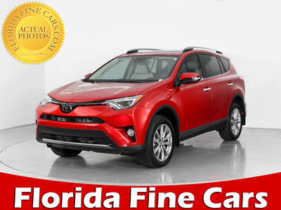 Used TOYOTA RAV4 2017 WEST PALM Limited