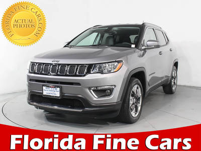 Used JEEP COMPASS 2017 MIAMI LIMITED