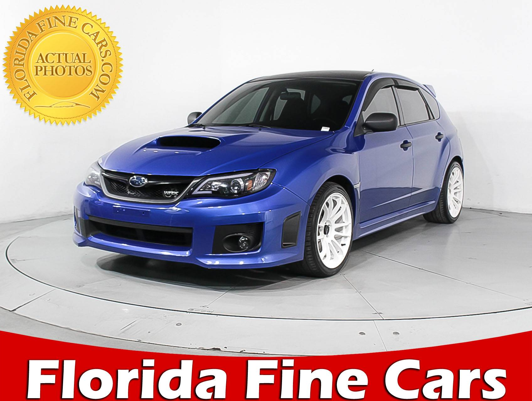 Used 2012 SUBARU IMPREZA WRX Hatchback for sale in MIAMI FL