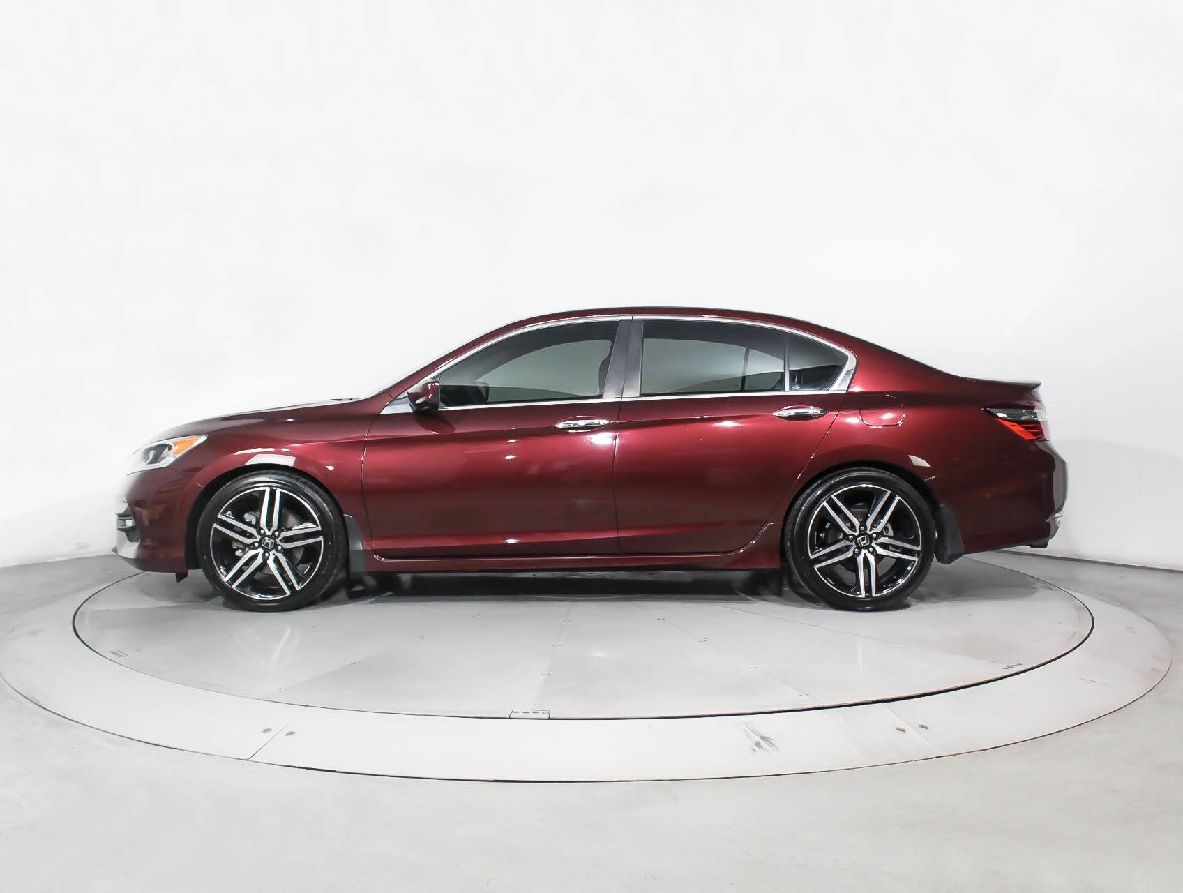 Used 2016 Honda Accord Sport Sedan For In Miami Fl 91040 Florida Fine Cars