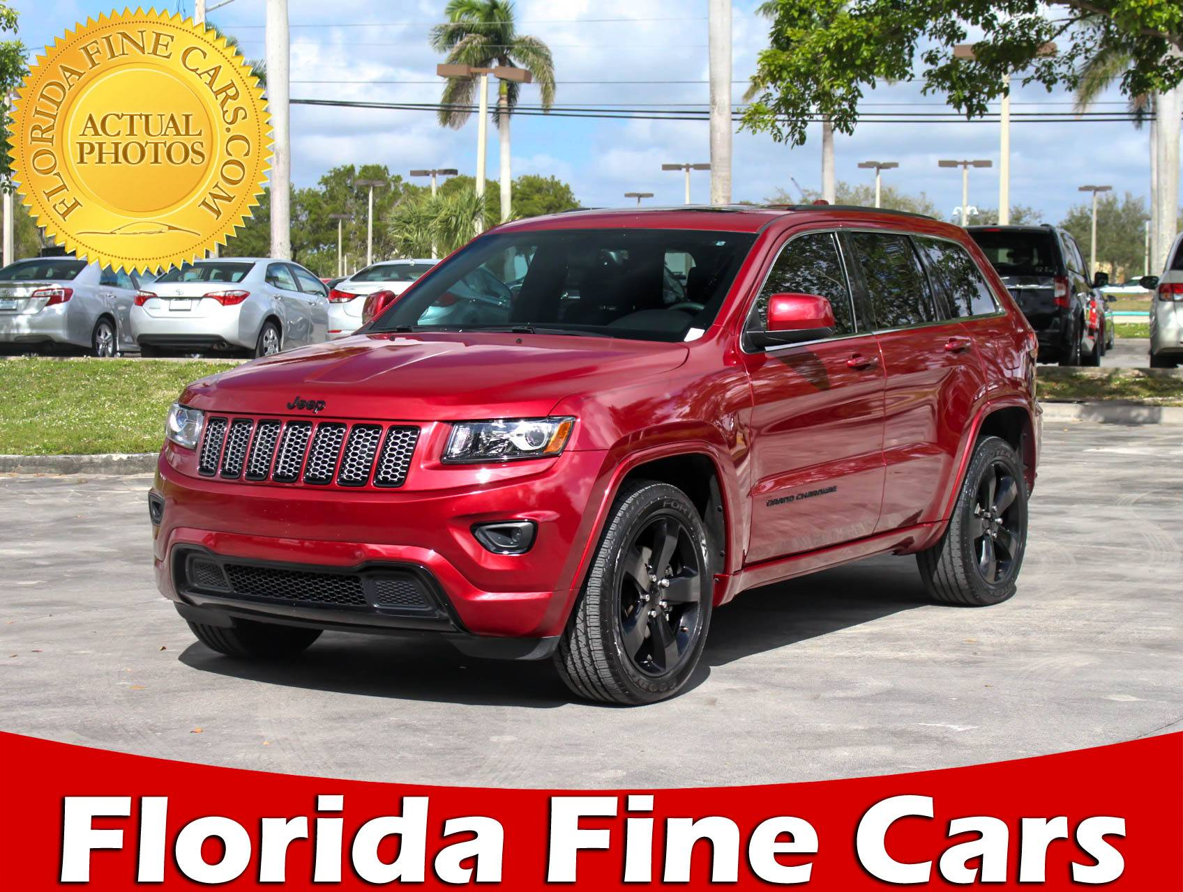 Used 2015 JEEP GRAND CHEROKEE Altitude SUV for sale in MARGATE FL