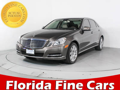 Used MERCEDES-BENZ E-CLASS 2013 HOLLYWOOD E350