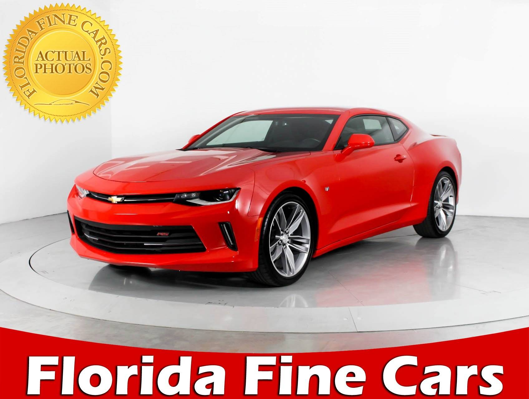 Used 2017 CHEVROLET CAMARO 1LT Coupe for sale in WEST PALM, FL ...