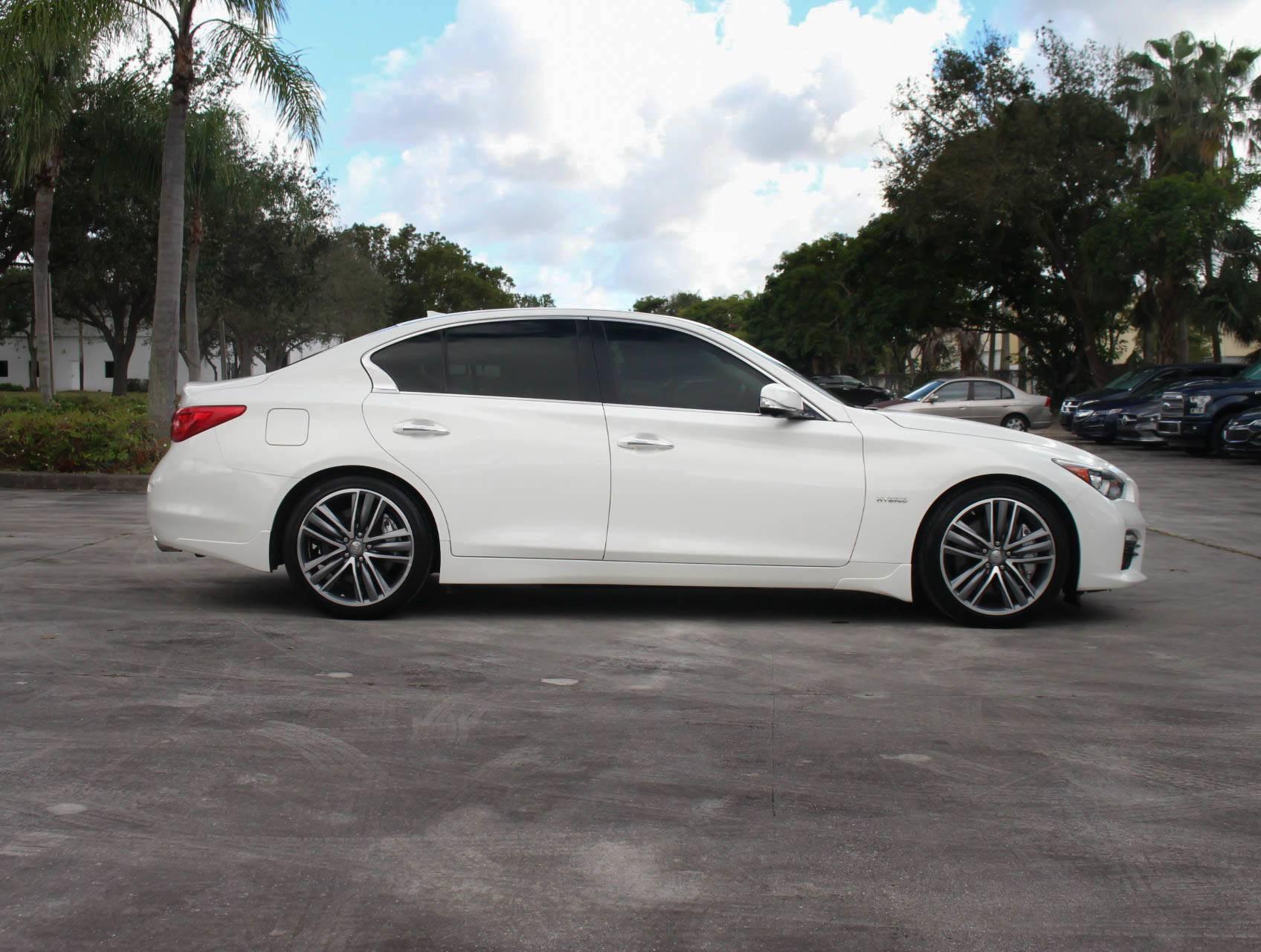 Used Infiniti Q50 For Sale In Miami >> Used 2014 INFINITI Q50s Hybrid Sport Sedan for sale in MIAMI, FL | 91131 | Florida Fine Cars