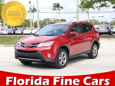Used TOYOTA RAV4 2015 HOLLYWOOD XLE
