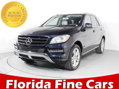 Used MERCEDES-BENZ M-CLASS 2013 MIAMI ML350