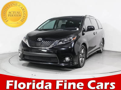 Used TOYOTA SIENNA 2015 HOLLYWOOD Se