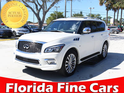 Used INFINITI QX80 2015 WEST PALM