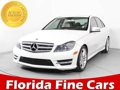 Used MERCEDES-BENZ C-CLASS 2013 HOLLYWOOD C250