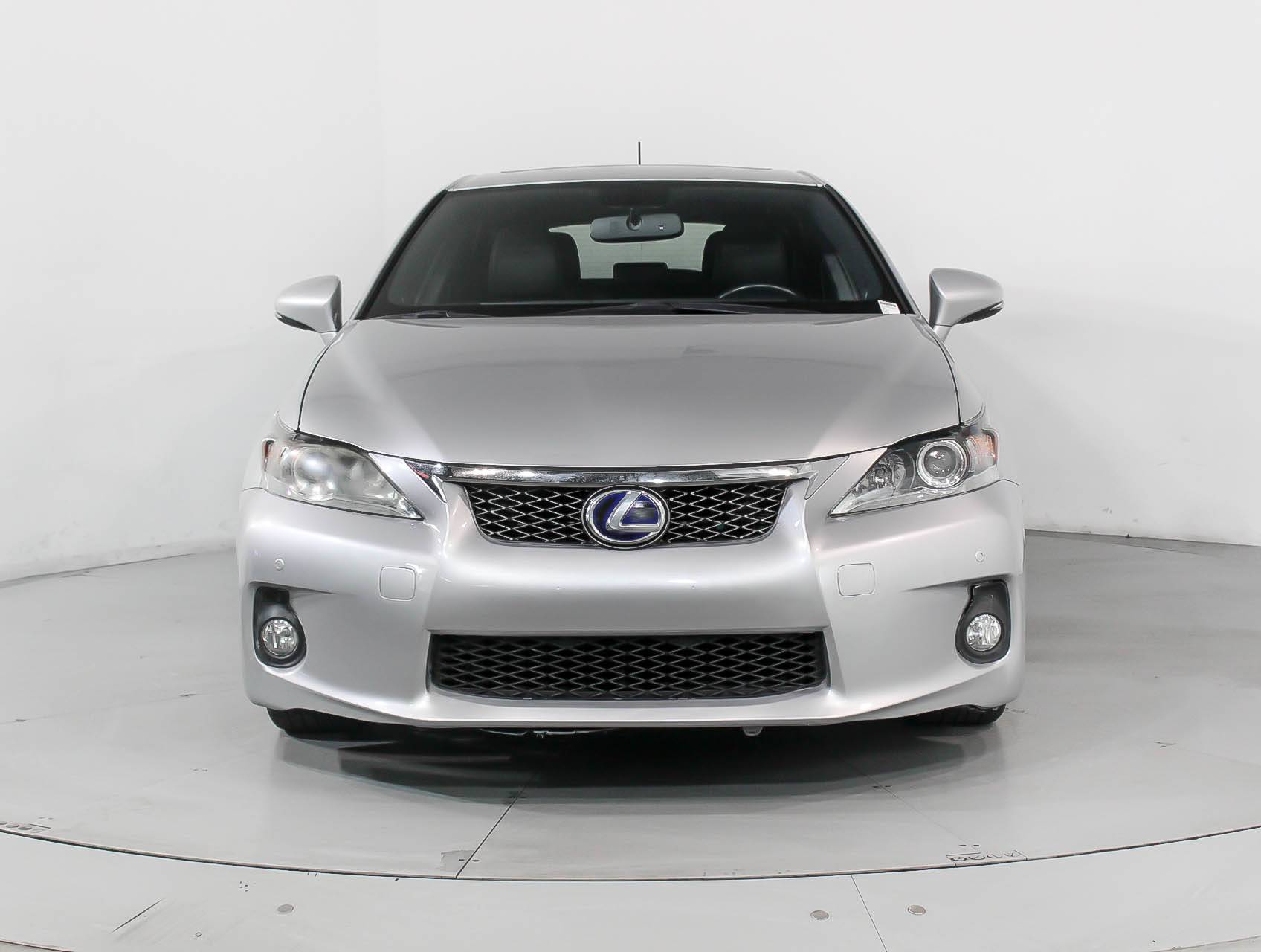 used 2013 lexus ct 200h f sport wagon for sale in wholesale fl 91315 florida fine cars. Black Bedroom Furniture Sets. Home Design Ideas
