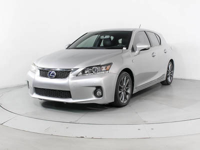 Used LEXUS CT-200H 2013 HOLLYWOOD F Sport
