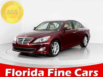 Used HYUNDAI GENESIS 2013 WEST PALM