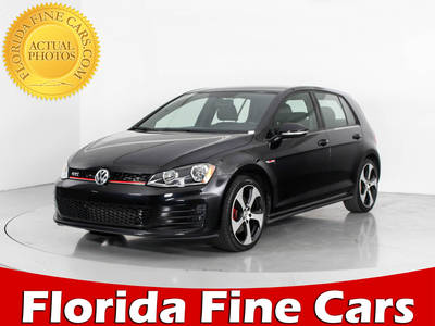 Used VOLKSWAGEN GTI 2016 WEST PALM S