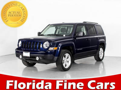 Used JEEP PATRIOT 2017 WEST PALM LATITUDE