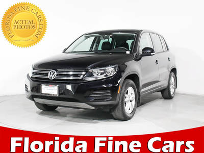 Used VOLKSWAGEN TIGUAN 2013 HOLLYWOOD S