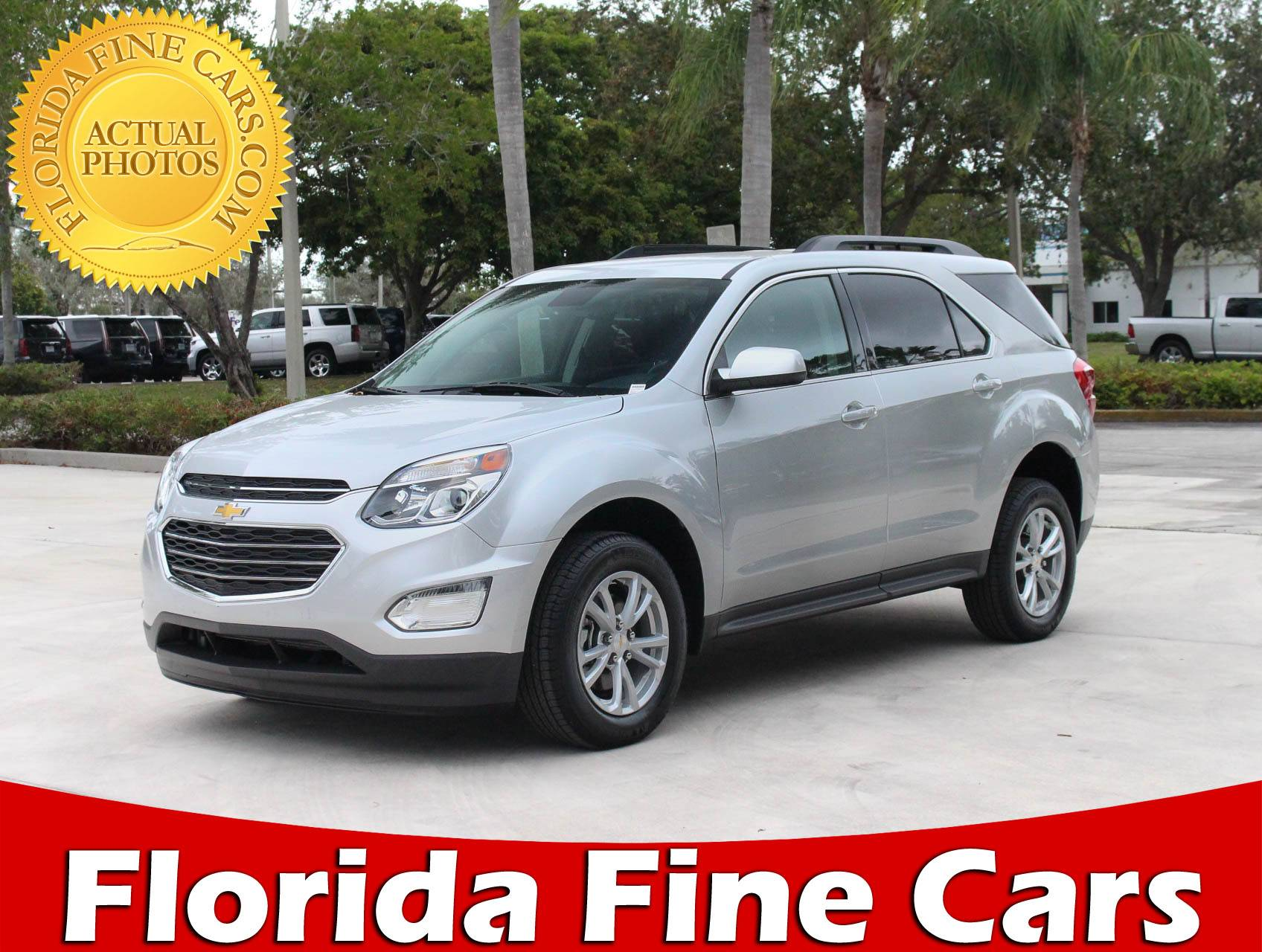 Used 2017 CHEVROLET EQUINOX LT SUV for sale in MARGATE FL