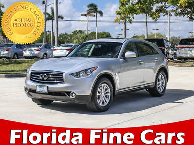 Used INFINITI QX70 2016 HOLLYWOOD