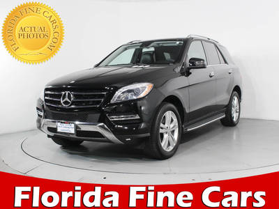 Used MERCEDES-BENZ M-CLASS 2015 MIAMI ML250 BLUETEC