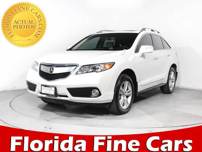 Used ACURA RDX 2015 MIAMI TECHNOLOGY PACKAGE