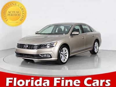 Used VOLKSWAGEN PASSAT 2016 WEST PALM SEL
