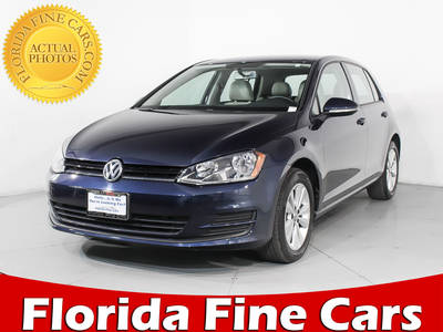 Used VOLKSWAGEN GOLF 2015 HOLLYWOOD Tdi S