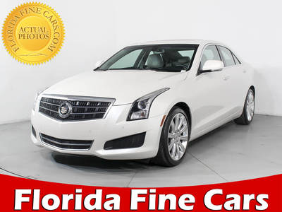 Used CADILLAC ATS 2013 WEST PALM LUXURY