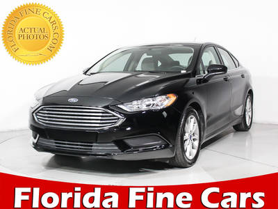 Used FORD FUSION 2017 HOLLYWOOD SE