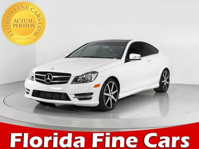 Used MERCEDES-BENZ C-CLASS 2015 WEST PALM C250