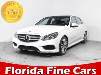Used MERCEDES-BENZ E-CLASS 2015 HOLLYWOOD E350