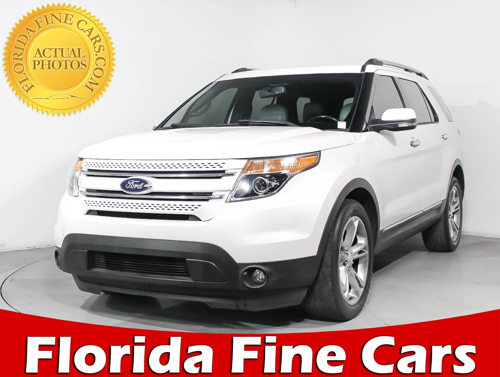 Used 2013 FORD EXPLORER Limited Ecoboost SUV for sale in MIAMI FL
