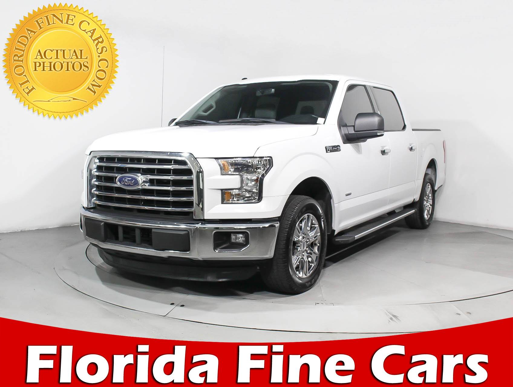 Used 2015 FORD F 150 Crew Cab Xlt Truck for sale in MIAMI FL