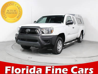 Used TOYOTA TACOMA 2014 MIAMI Extended Cab