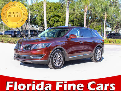 Used LINCOLN MKX 2016 MARGATE SELECT