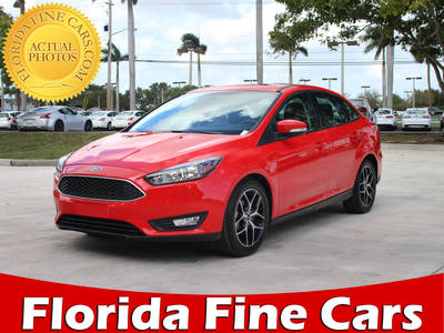 Used FORD FOCUS 2017 MARGATE SEL