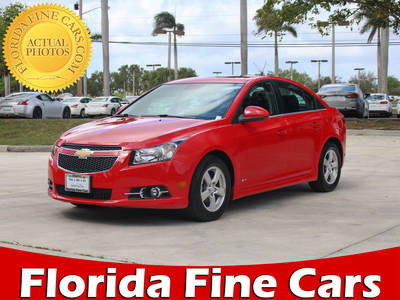 Used CHEVROLET CRUZE 2014 MARGATE 1LT