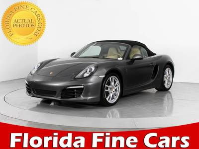 Used PORSCHE BOXSTER 2014 WEST PALM