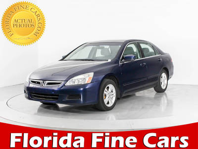 Used HONDA ACCORD 2006 WEST PALM SE