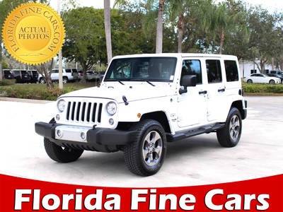 Used JEEP WRANGLER-UNLIMITED 2017 MARGATE SAHARA