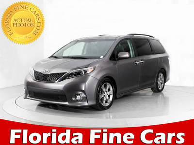 Used TOYOTA SIENNA 2015 WEST PALM Se